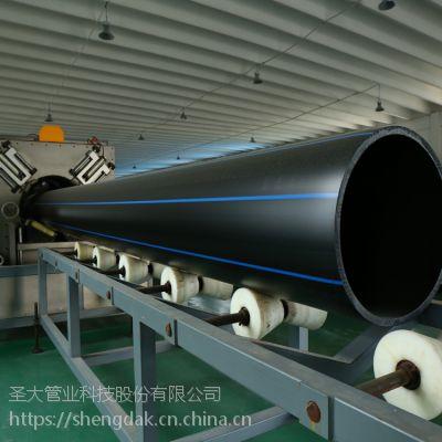 圣大管业厂家批发山西朔州市 6公斤市政给水PE给水管PE盘管聚乙烯管pe自来水管