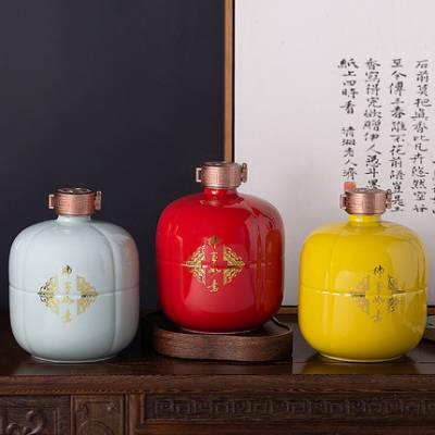 陶瓷罐子多少个可以批发定做 景德镇陶瓷罐子厂家 茶叶罐 蜂蜜罐 食品包装罐价格