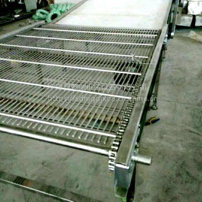 不锈钢网链传送带输送机订制乾德厂家
