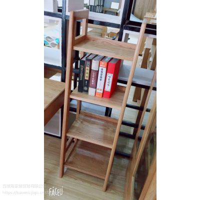 百维斯美琳馨北欧白橡木书架