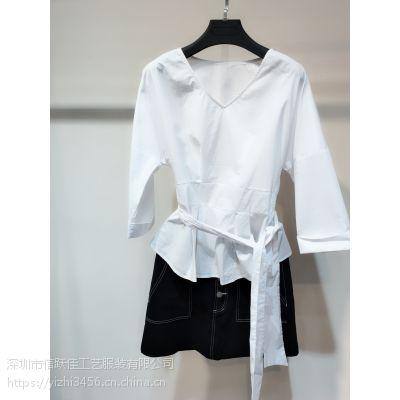义乌篁园服装市场黄轩宾尼时尚品牌女装加盟杭州女装网官网休闲连衣裙多种款式