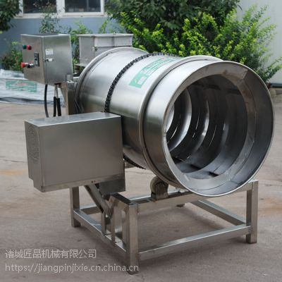 直销辣白菜滚筒拌料机 全自动操作,速度可调不锈钢材质JP-GT-800