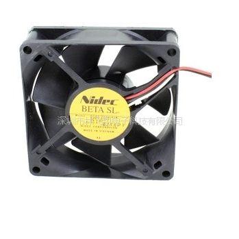 全新 Nidec 8025 24V 0.10A D08A-24T8厘米变频器散热风扇