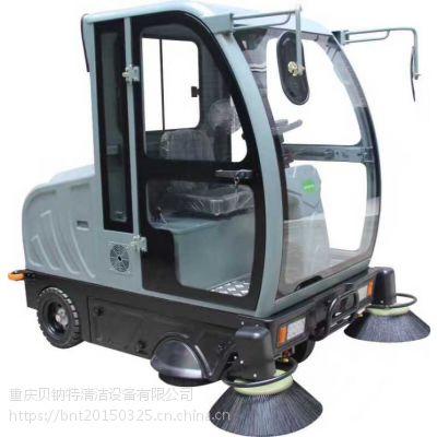 重庆豪华型全封闭驾驶式扫地车OS-V5