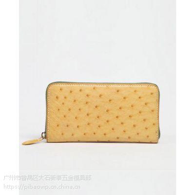 泰国鸵鸟皮手包女士手拿包商务大容量手抓包时尚真皮女包潮