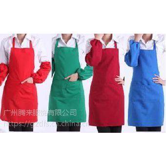 定做南沙区酒楼围裙,厨师防水防油围裙订做,烧烤摊防脏围裙定制