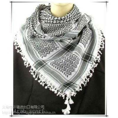 2019新春上市阿拉伯手工打结头巾 Arab 8# knotted scarf/Arab scarf