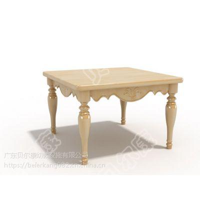 贝尔康 欧式新款 方桌 幼儿课桌 学习桌 餐桌