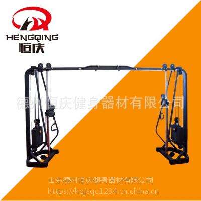 大飞鸟训练器 胸肌综合训练器 龙门架 健身房器械 可定制颜色 恒庆健身器材