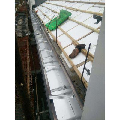 石家庄彩铝方形落水管金属屋檐雨水槽真的好