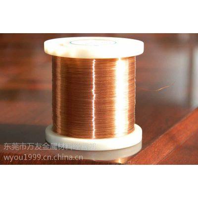 洛阳洛铜1/2h紫铜线 公差-0.02mm精密紫铜线1.4mm扎装/轴装裸铜线