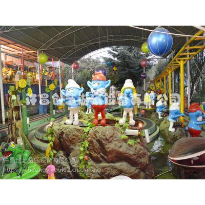 包头市上客量大的庙会游乐设备花海精灵创艺游乐推荐款精灵王国