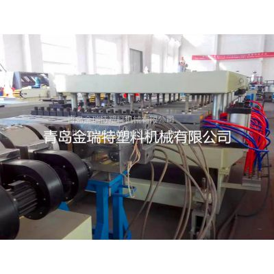 SJSZ80/156 木塑建筑模板生产线 PVC结皮发泡板设备 青岛塑料机械