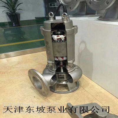 天津大流量污水潜水泵 潜水排污泵 潜水轴流泵