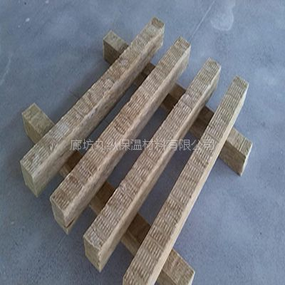 九纵生产A级岩棉条强度高节能高效环保保温材料