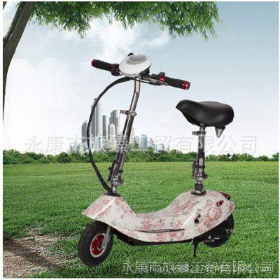 厂家直销电动滑板车可折叠成人女士骑行户外迷你小海豚 8寸迷你车
