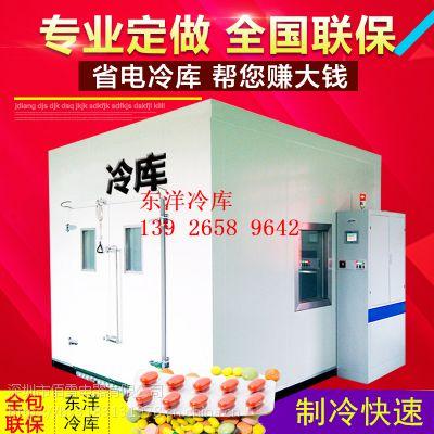 30吨小型保鲜库造价 东洋冷库厂家 专业冷库团队建设