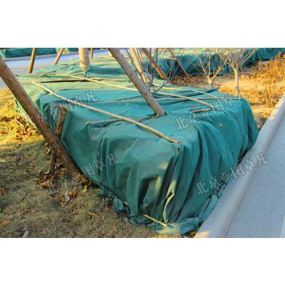 园林工程绿化无纺布加厚防寒防冻保温棉园林景观苗圃木越冬防寒布
