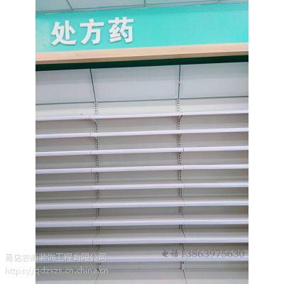 厂家供应药店超市金属货架处方柜阴凉区展示架便利店母婴店展柜