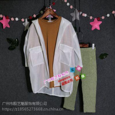 婴姿坊品牌童装货源走份批发童装外套系列搭配促销