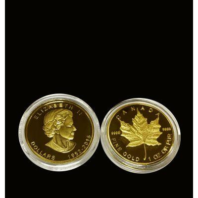 加拿大枫叶币 各类合金、金属外币定制厂家 大量现有模具 欢迎询问