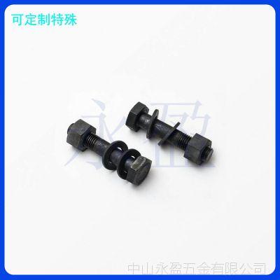 佛山中山钢结构用10.9级GB/T1228高强度大六角螺栓 氧化发黑厂
