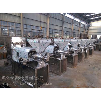 花生榨油机配件 花生仁榨油机工作原理 生产线都需要什么设备