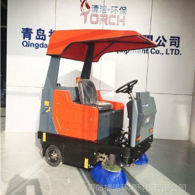 社区路面驾驶式电动清扫车