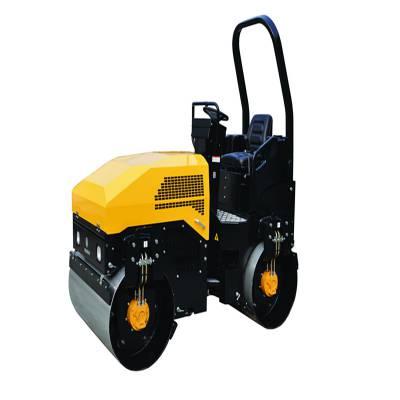 九州友情销售1吨压路机 草坪压实座驾压路机