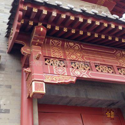 专业古建垂花门楼景观工程承包施工