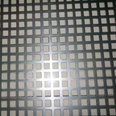 方形孔图案冲孔网板加工定制304不锈钢镀锌铁铝洞洞板冲孔网供应商筛网过滤网