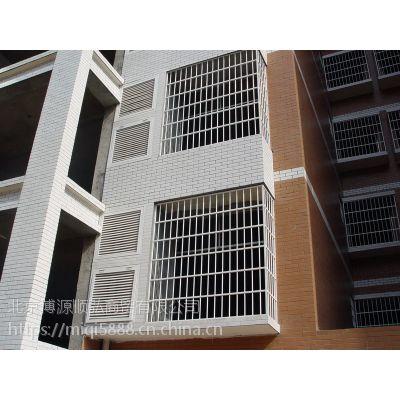 山西Q235HC烤漆百叶窗围栏,百叶空调护栏现场下料安装,锌钢阳台栏杆