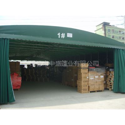 南京物流推拉蓬 户外活动帐篷 收缩帐棚帆布 推拉雨蓬