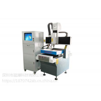深圳蓝濂6060轻型CNC雕刻机 门牌铝板 铜 亚克力雕刻机 门牌精雕机 厂价直销