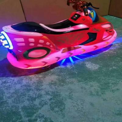 广场极速飞艇太子摩托车玩具 公园新款室外游乐设备电动车批发价格