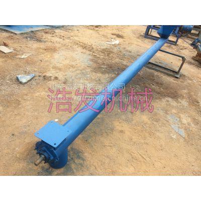 钢管式提粮机 移动倾斜垂直随便用的钢管提升机 浩发