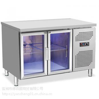 南通蓝光奶茶冷藏柜_奶茶店全套设备哪里卖