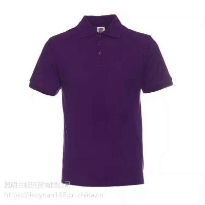 昆明广告衫印字厂家,空白T恤衫大量库存,当天出货