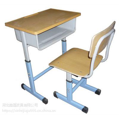 鑫磊专业生产学生升降课桌椅