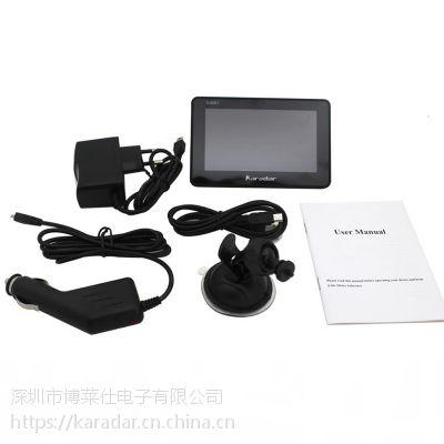 4.5 寸MTK 安卓汽车便携式导航1080p前置摄像头