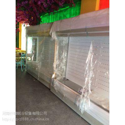 专业定制串串火锅风幕柜 加湿喷雾风幕柜