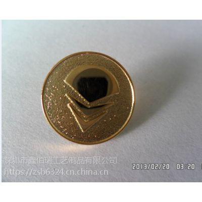 格尔木制作纪念胸牌厂家西宁高档铜质徽章订做