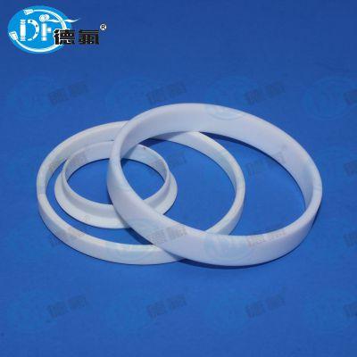 【百年德氟】PTFE零件 开口卡套 纯A料加工件 专业生产非标四氟零件