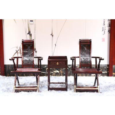 河南安阳精品红木家具价格表批发老挝大红酸枝交趾黄檀交椅3件套