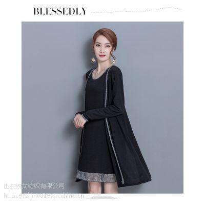 2018潮套裙装韩版春季宽松两件套