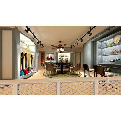具有高度美感的视觉享受的女装专卖店装修设计案例