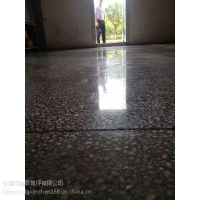 东莞东坑水磨石晶面处理/常平/旧地坪翻新/水磨石固化地坪施工