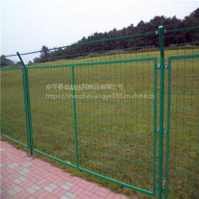 燊喆供应桥梁用框架防抛网 优质浸塑框架护栏网 高速带框隔离护栏网