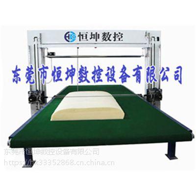 立式加横式双振刀泡棉异型切割设备 恒坤HK-SZD2023台式海绵切割机