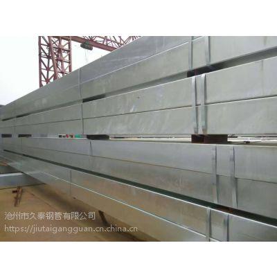 镀锌矩形管 矩形管价格 矩形管厂家定做批发